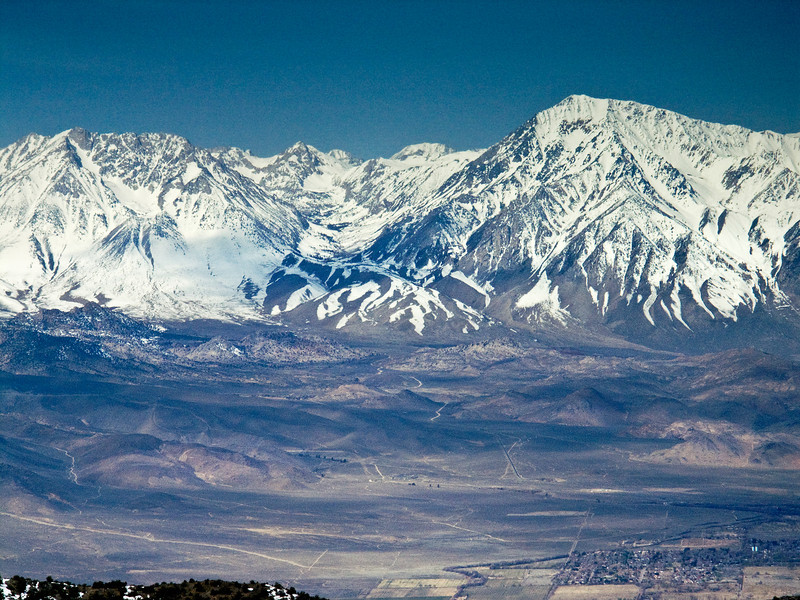 Eastern Sierras from the White Mountains 4
