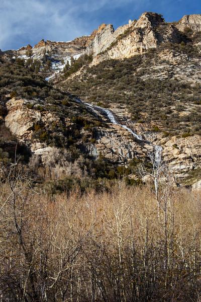 Lamoille Canyon Waterfall