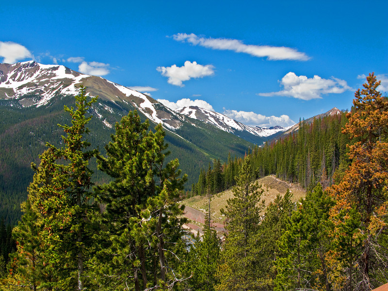 Rockies near Winter Park, Colorado