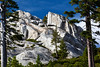 White Granite at the Top of Castle Crags