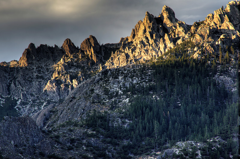 Castle Crags State Park Sunset 4 HDR