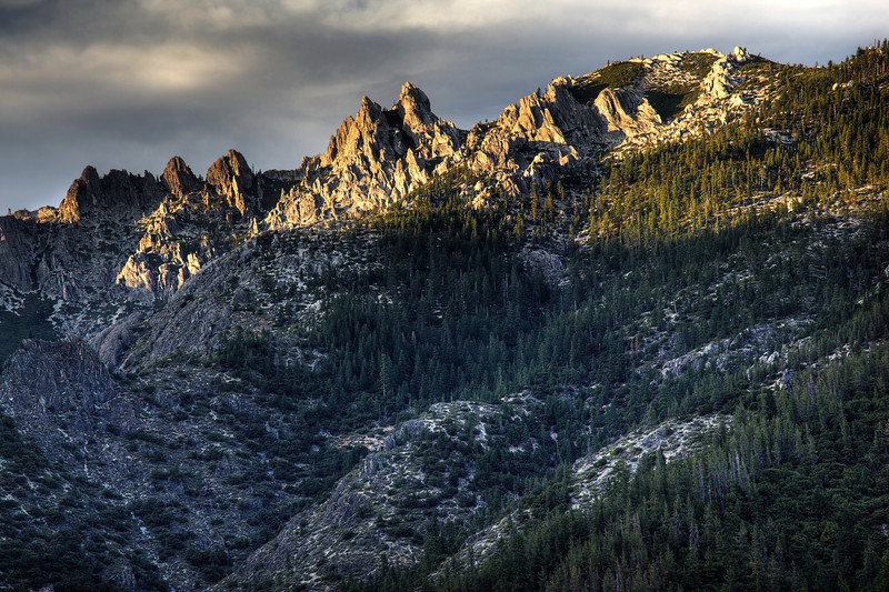 Castle Crags State Park Sunset 3 HDR
