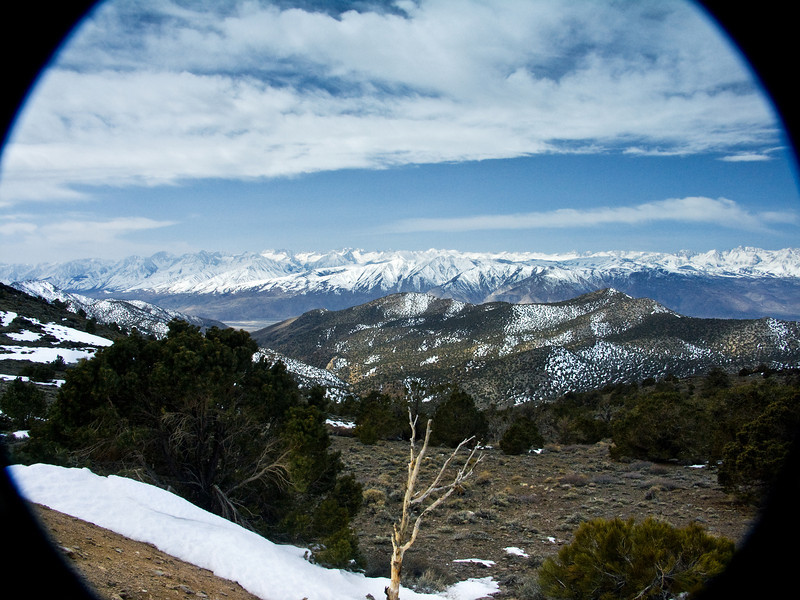 Eastern Sierras through the Looking Glass