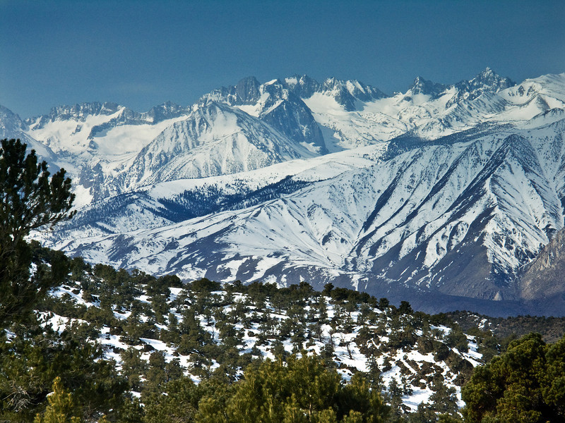Eastern Sierras from the White Mountains 3