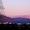 Purple mountains in winter <br /> Limited edition, please contact me for prints