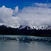 Glacier flows onto Glassy Waters