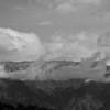 Wilson and rushing clouds II, BW