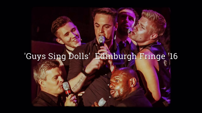 'Guys Sing Dolls' Short Photo Montage