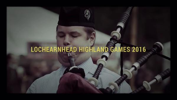Photo Montage: Lochearnhead Highland Games 2016