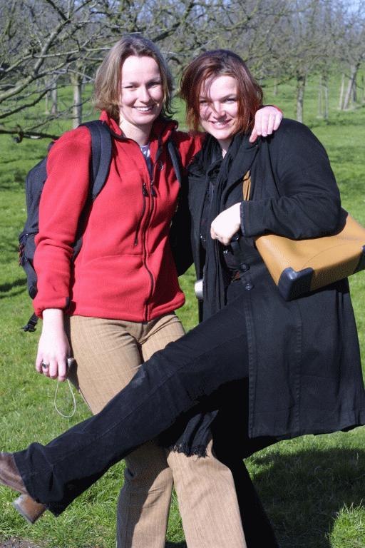 Petra and Mirella