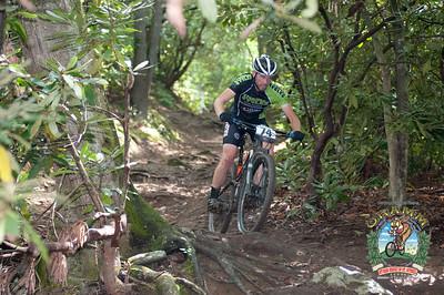 Matt Champion tackling the bottom of Heartbreak Ridge.
