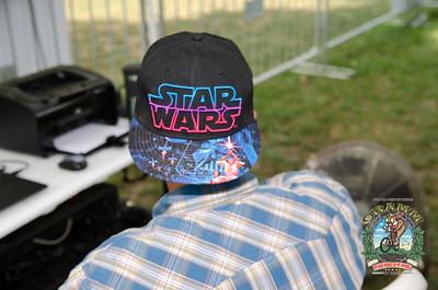 Cam Fraser, Star Wars Fan.