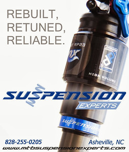Suspension Experts,  89 Thompson St.  Asheville, NC.