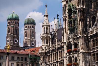 Rathaus, Frauenkirche