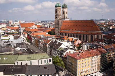 Frauenkirche from Peterskirche tower
