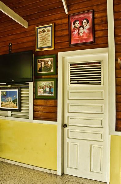 Museum Hermanas Mirabal, Library Entrance<br /> Salcedo, Dominican Republic