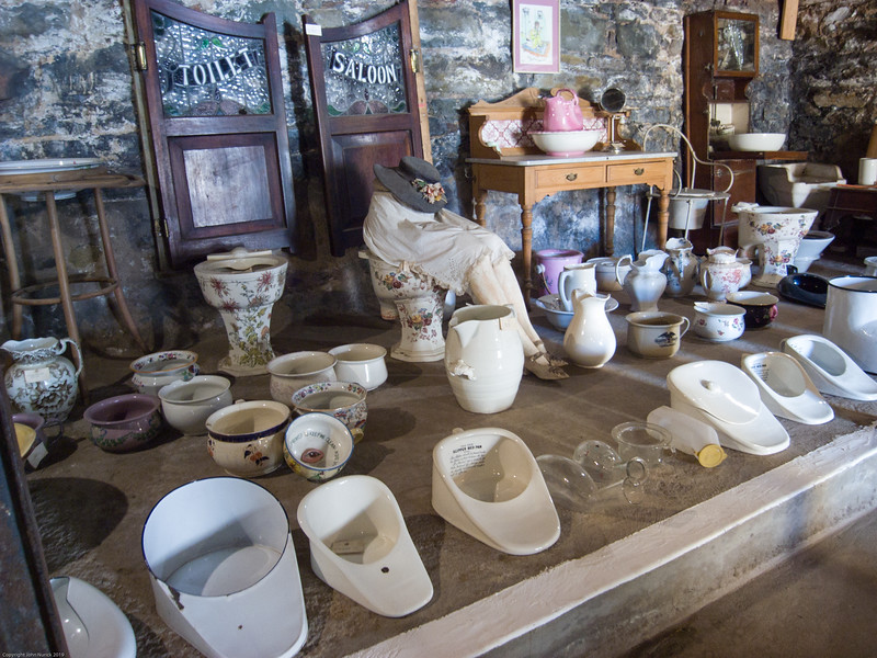 One of the many collections in the museum at Matjiesfontein