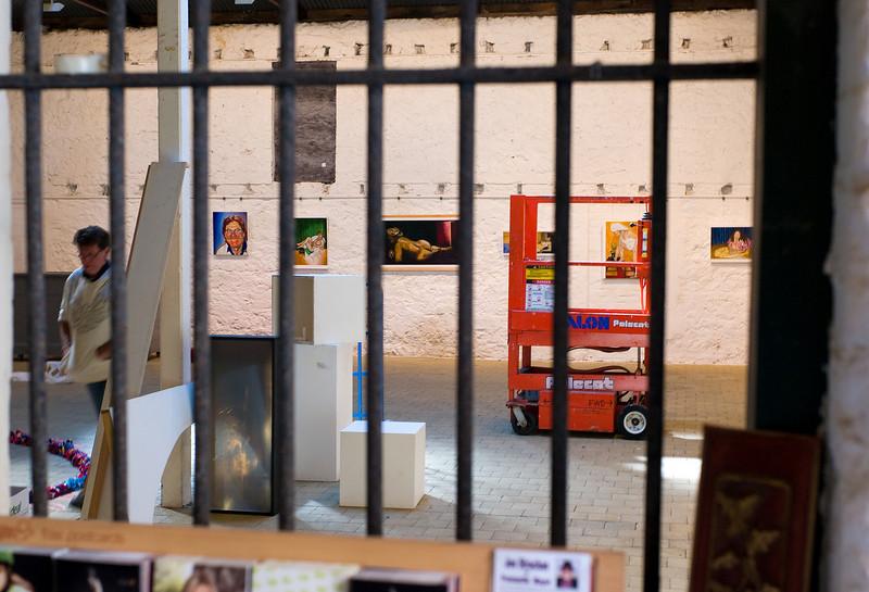 Installation 1: Moores Building Contemporary Art Gallery, Fremantle. 2009.