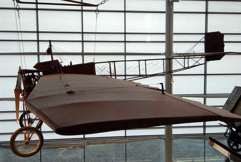 The first aircraft ever built in Wales: National Waterfront Museum, Swansea. One day I'll look up the details of builder and year...