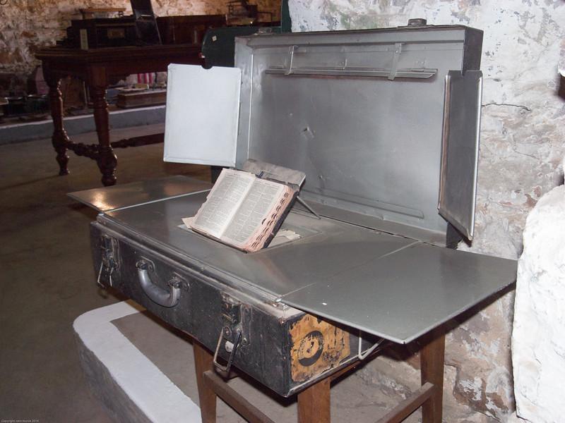 Field altar, Marie Rawdon Museum, Matjiesfontein