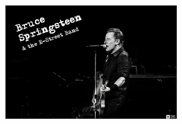 Bruce Springsteen in Black & White