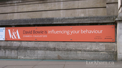 David Bowie is Exhibit at the V&A, London