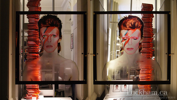 David Bowie is Exhibit store at the V&A, London