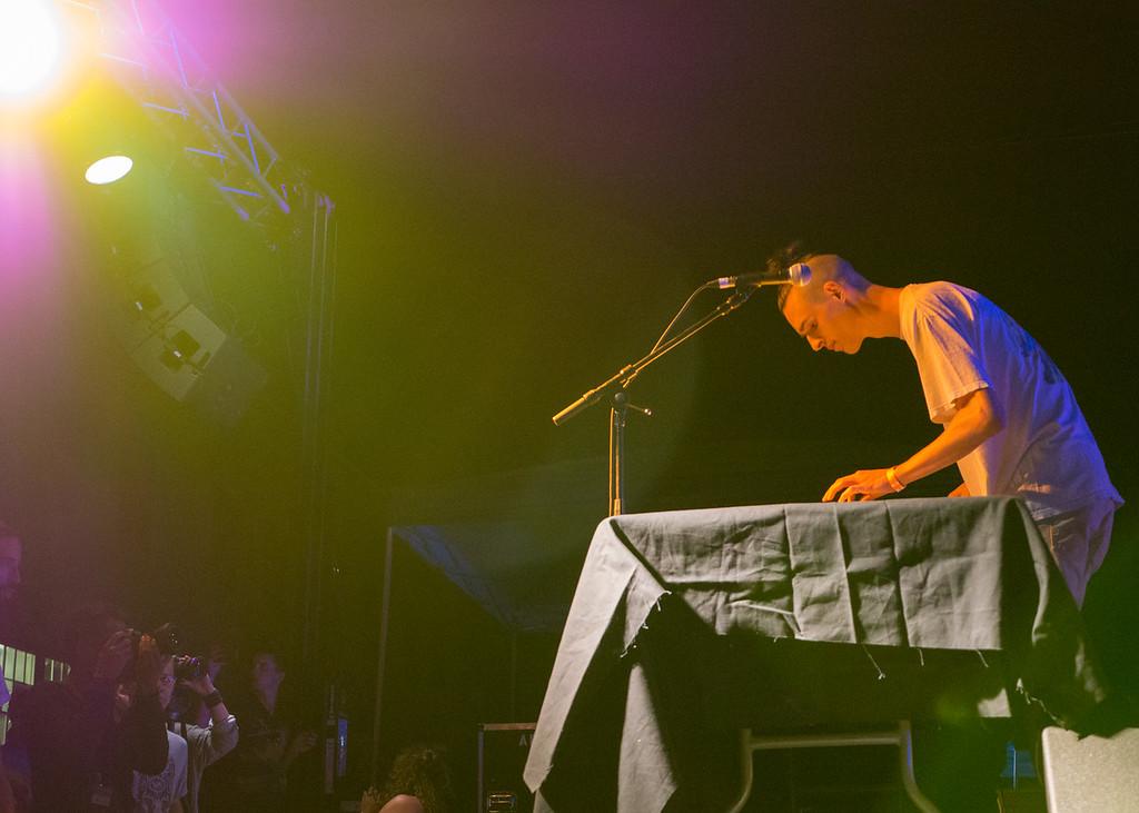 Dylan Stark @ PDX Pop Now! Festival, Portland - July, 24, 2015