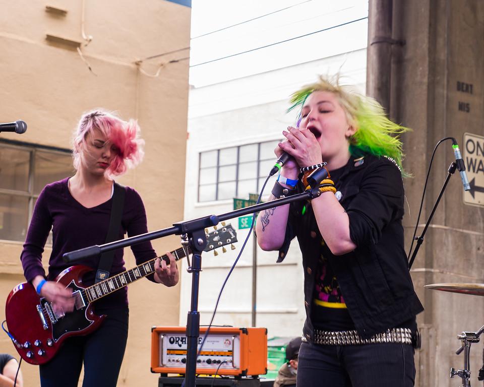 The Stops @ PDX Pop Now! Festival, Portland - July, 25, 2015