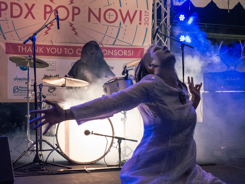 Ice Princess @ PDX Pop Now! Festival, Portland - 2017