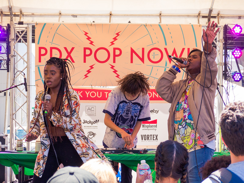 [E]mpress @ PDX Pop Now! Festival, Portland - 2017