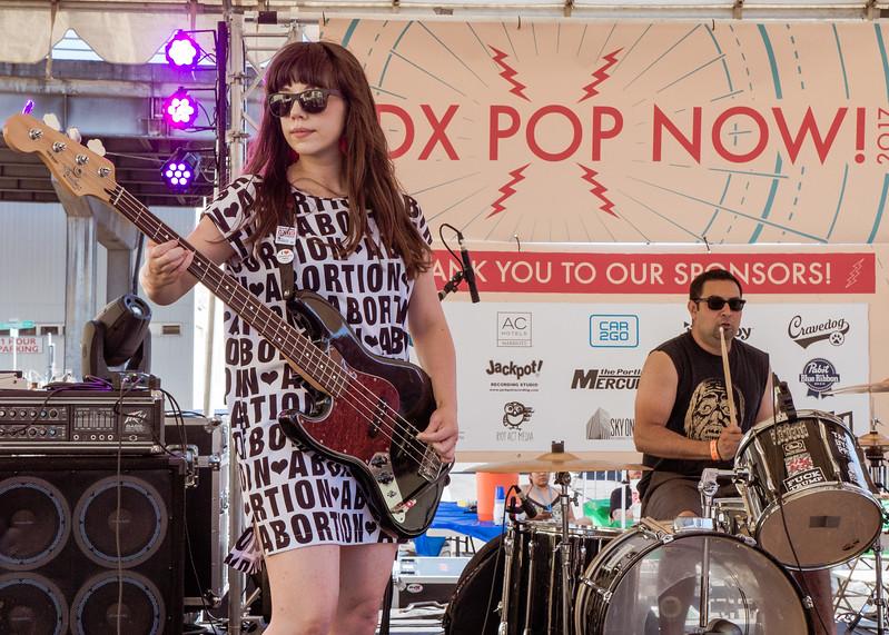 Piss Test @ PDX Pop Now! Festival, Portland - 2017