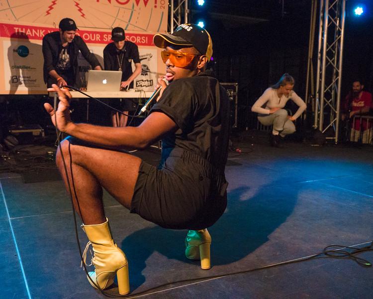 Maarqui & JVNITOR @ PDX Pop Now! Festival, Portland - 2017