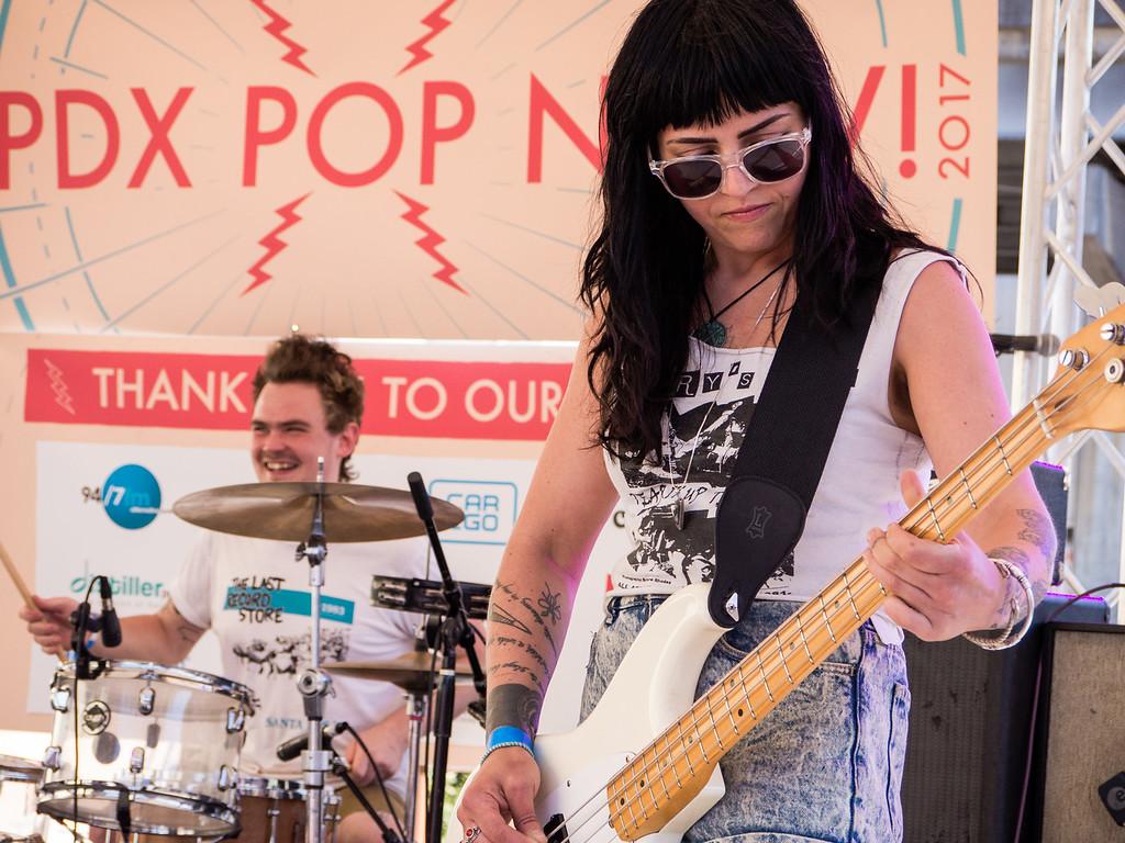 Public Eye @ PDX Pop Now! Festival, Portland - 2017
