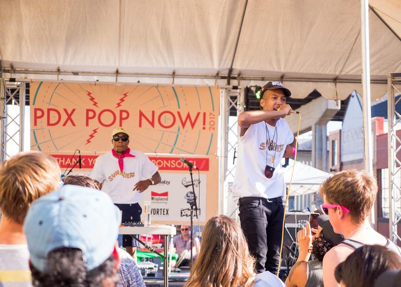 Bryson the Alien @ PDX Pop Now! Festival, Portland - 2017