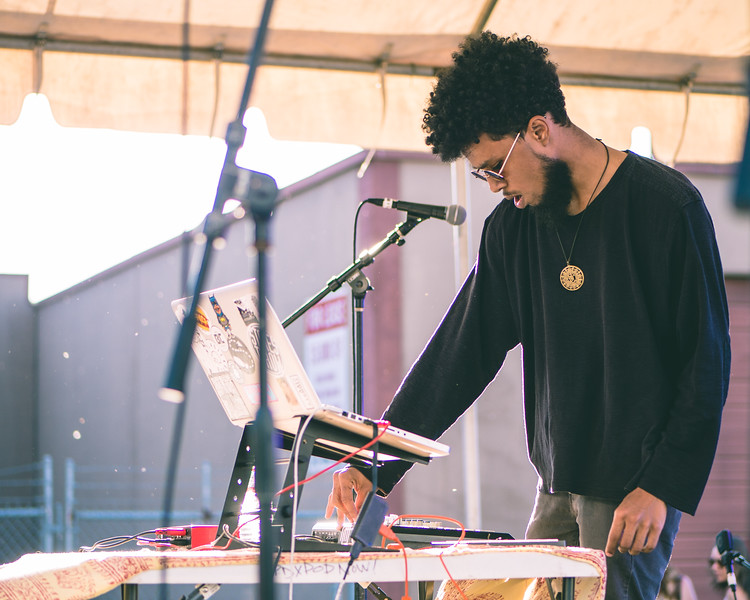 Omari Jazz @ PDX Pop Now! Festival, Portland - 2018