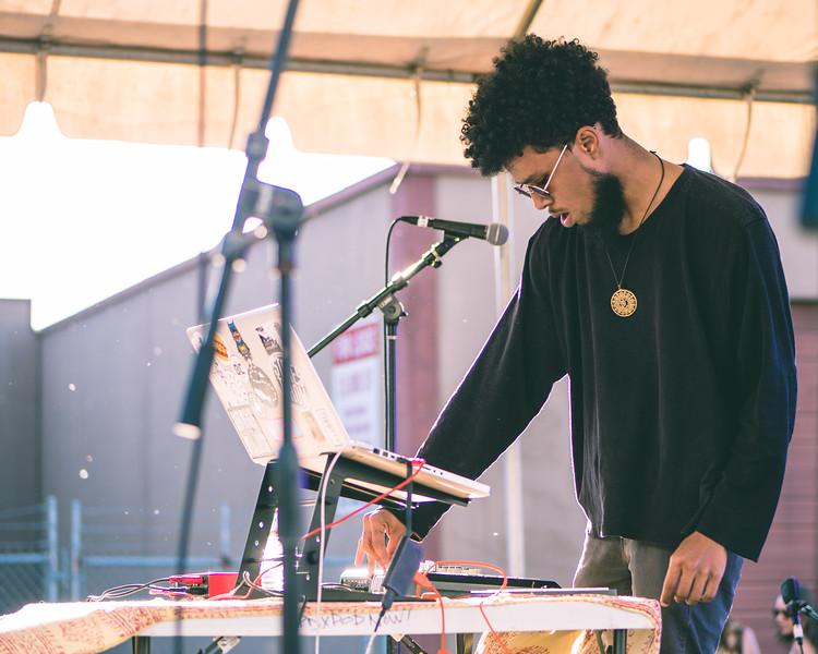 Omari Jazz @ PDX Pop Now! Festival, Portland - 2018