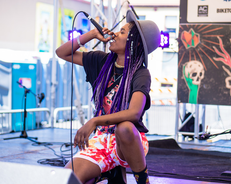 [E]mpress & BLK + IVY @ PDX Pop Now! Festival, Portland - 2018