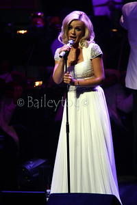 Katherine Jenkins appears at the New Theatre Oxford on the first night of her tour. She has decided to only perform at smaller venues even though she has sold out arena tours in the past.