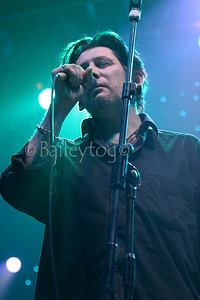 The Pogues perform live at the Newcastle Metro Radio Arena on 16 December 2005