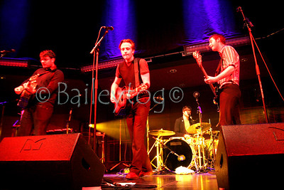 The Futureheads perform an acoustic set, live at the Sage, Gateshead, Tyne and Wear 18 May 2006