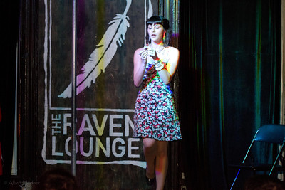 Burlesque at the Raven Lounge