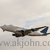 FEBRUARY 7, 2016 - Dream Lifter taking off from Anchorage airport.