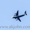 JANUARY 21, 2I016 - An Air Force C-17 flying overhead in Anchorage.