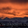 JANUARY 19, 2016 - Sunrise in Anchorage Alaska