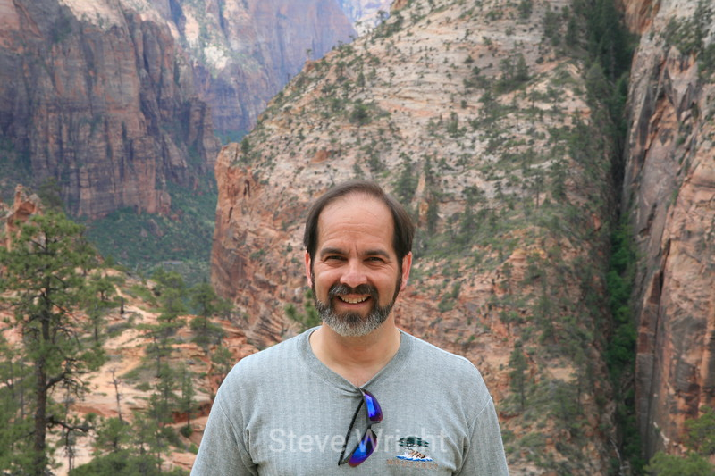 Me! In Zion National Park, at Angel's Landing.