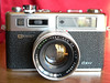 Yashica Electro 35 GSN Rangefinder Front View (1973-1987)
