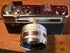 Yashica Electro 35 GSN Rangefinder Top View (1973-1987)