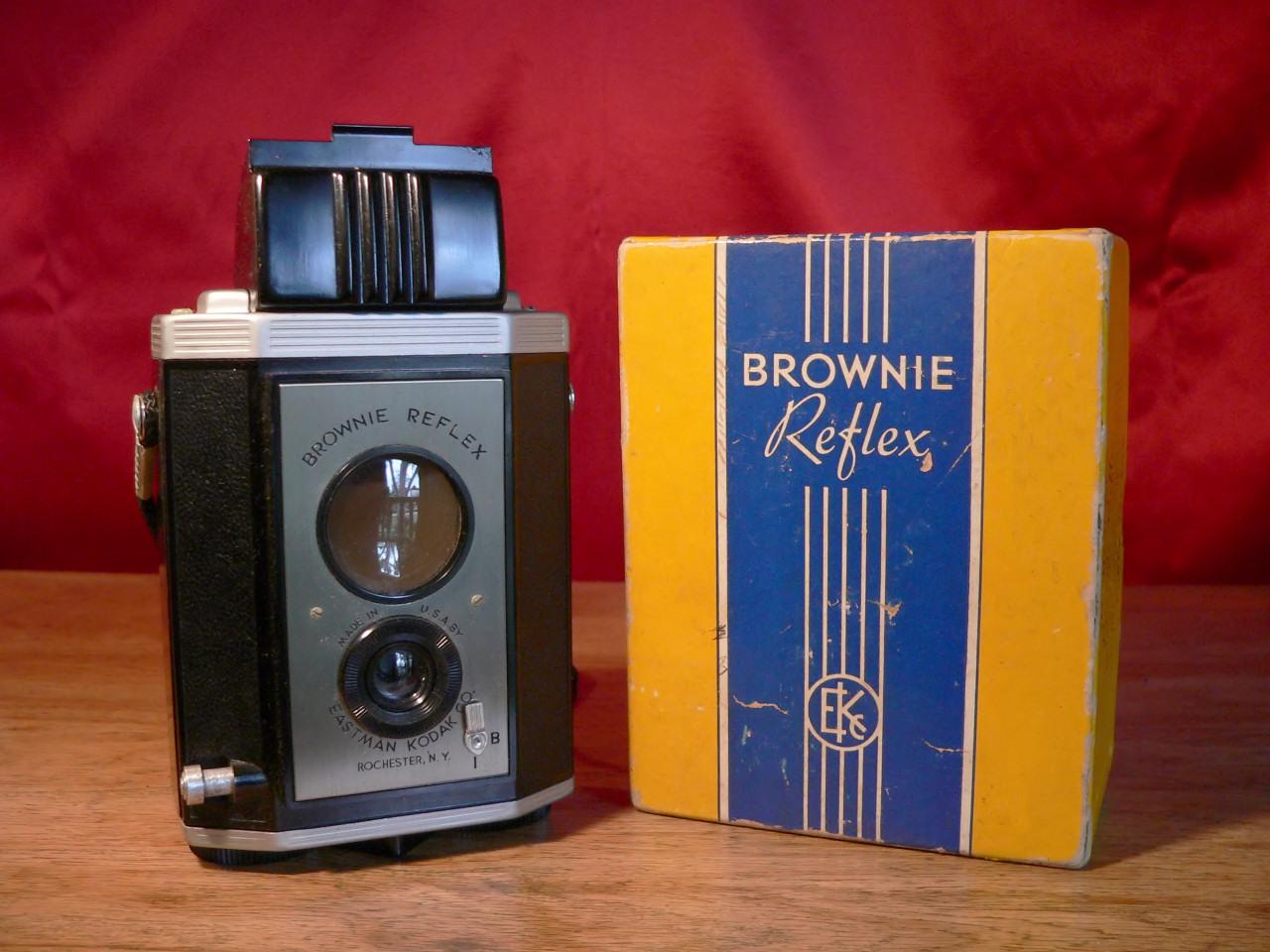 Eastman Kodak Brownie Reflex W/Box(1940-1941)