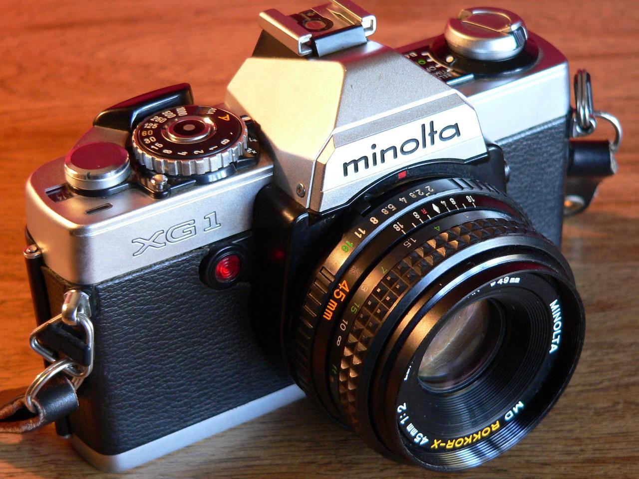 Minolta XG-1  (1979-1980)
